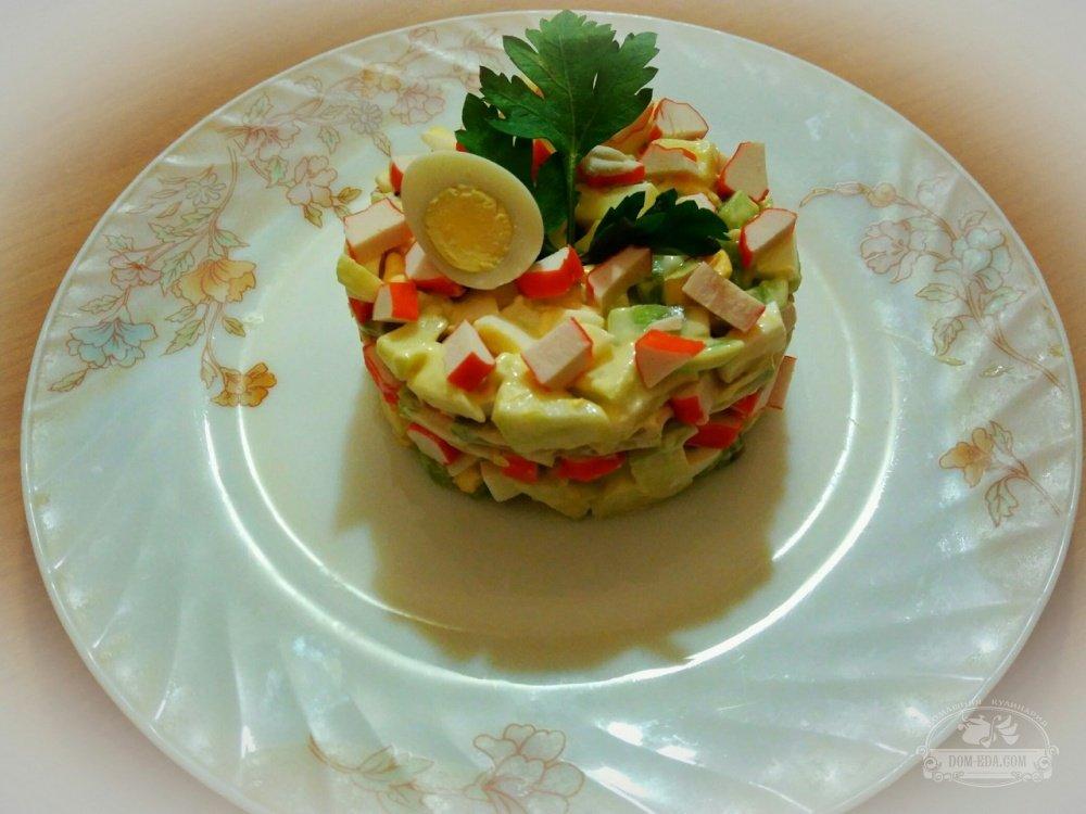 тех, крабовый салат с авокадо рецепт фото что скоро другие