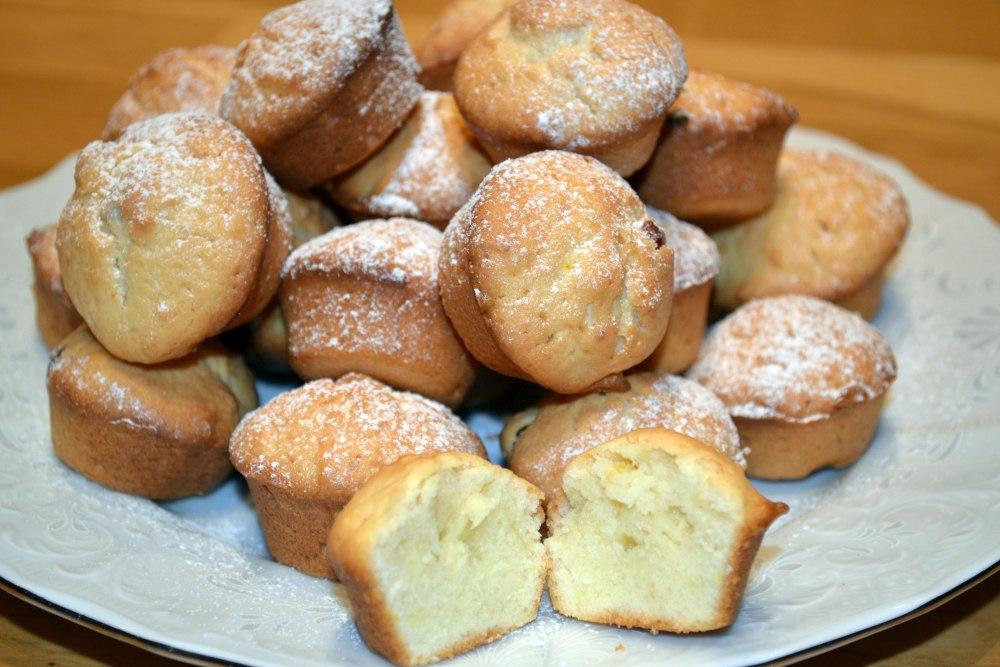 воздушные творожные кексы рецепты с фото самые