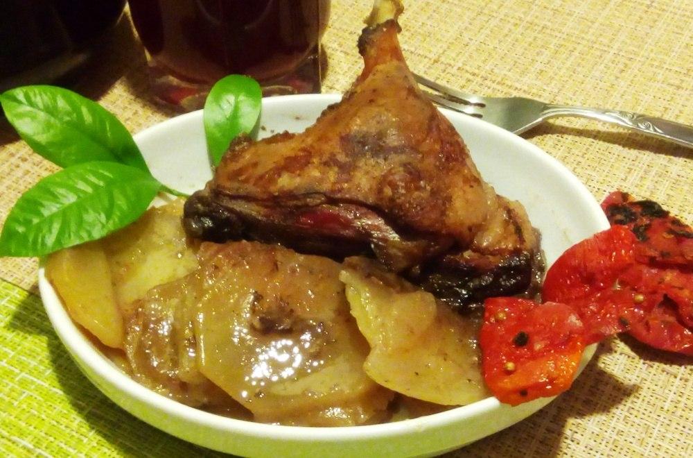 фото рецепт жаркого из утки полезен уксус